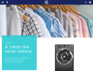 origin-www.electroluxappliances.com screenshot