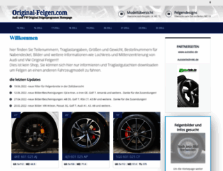 original-felgen.com screenshot