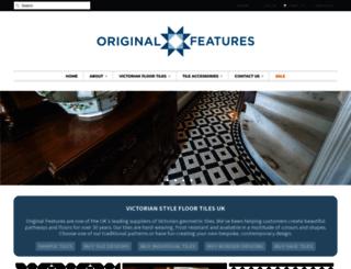 originalfeatures.co.uk screenshot