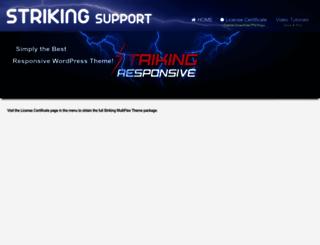 originalstriking.strikingsupport.com screenshot