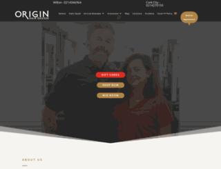 originhairdesign.ie screenshot