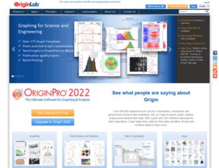 originlab.de screenshot