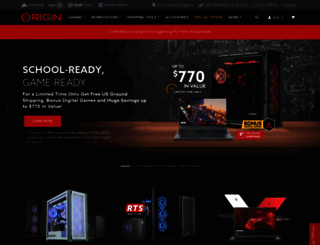 originpc.com screenshot