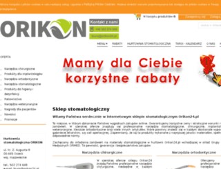 orikon24.pl screenshot