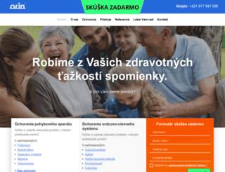 orin.sk screenshot