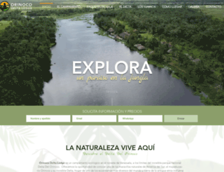 orinocodelta.com screenshot