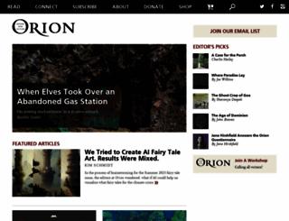 orionmagazine.org screenshot