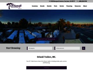 orlanditrailer.com screenshot