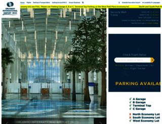 orlandoairports.net screenshot