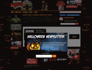 orlandohauntedhouses.com screenshot