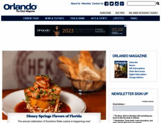 orlandomagazine.com screenshot