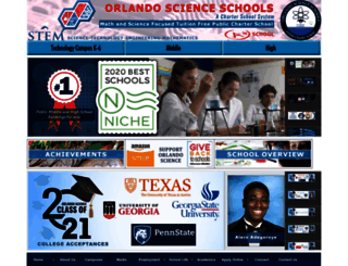 orlandoscience.org screenshot