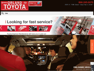 orlandtoyota.dealereprocess.com screenshot