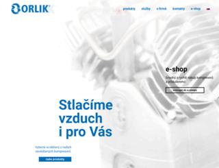 orlik.cz screenshot