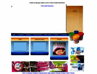 orocolor.com.ve screenshot