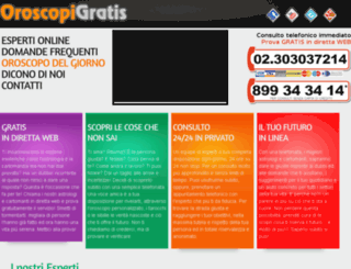 oroscopigratis.net screenshot