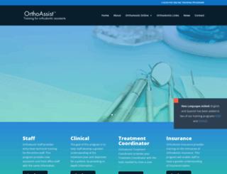 orthoassist.com screenshot