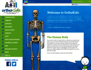 orthokids.org screenshot