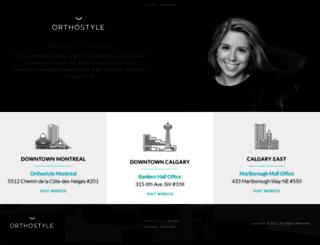orthostyle.com screenshot