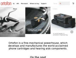 ortofon-dj.com screenshot