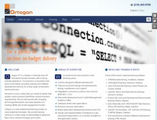 ortogon.com.tr screenshot