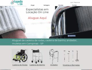 ortopediaecia.com.br screenshot