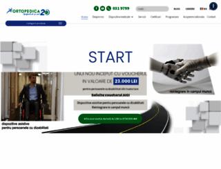 ortopedica.ro screenshot