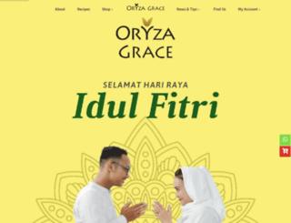 oryzagrace.com screenshot