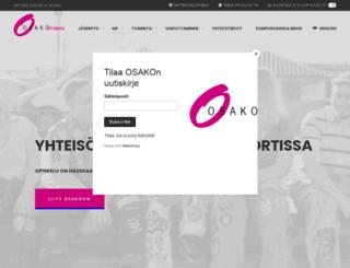 osakoweb.fi screenshot