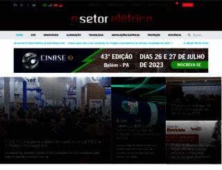 osetoreletrico.com.br screenshot