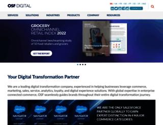 osf-commerce.com screenshot