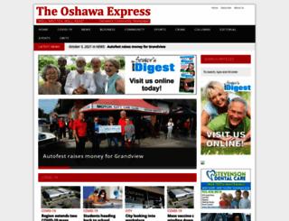 oshawaexpress.ca screenshot