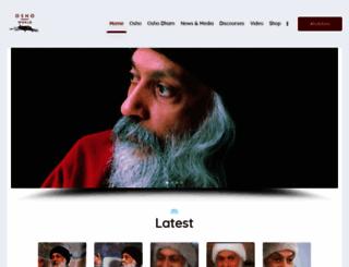 oshoworld.com screenshot