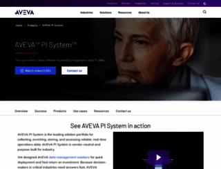 osisoft.com screenshot
