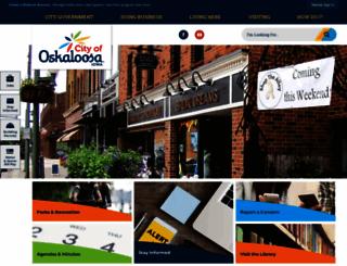 oskaloosaiowa.org screenshot