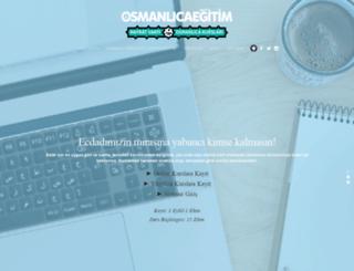 osmanlicaegitim.com screenshot