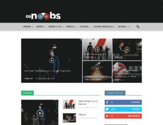 osnoobs.com.br screenshot