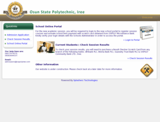 ospolyiree.com screenshot