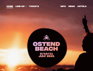 ostendbeach.be screenshot