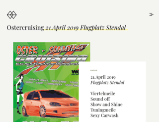 ostercruising.com screenshot