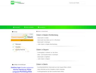 ostern-in-deutschland.de screenshot
