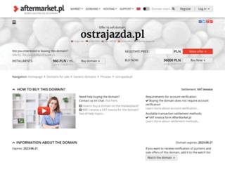 ostrajazda.pl screenshot
