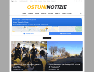 ostuninotizie.it screenshot