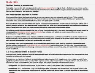 osushi.fr screenshot