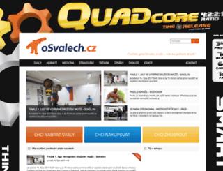 osvalech.cz screenshot