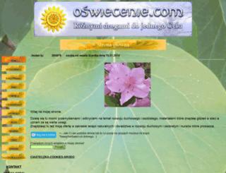 oswiecenie.com screenshot