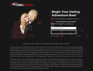 otakusingles.com screenshot