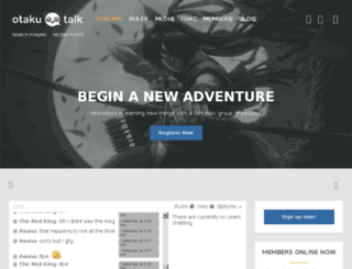 otakutalk.com screenshot
