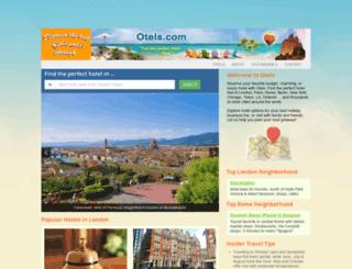 otels.com screenshot