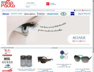 oticasaopaulo.com.br screenshot